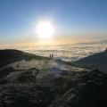 K - Sunrise from peak